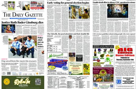 The Daily Gazette – September 19, 2020
