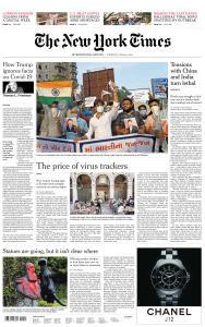 International New York Times - 18 June 2020