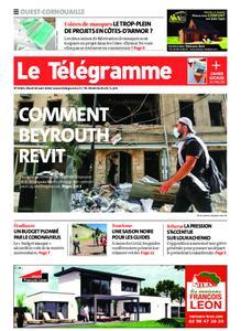 Le Télégramme Ouest Cornouaille – 18 août 2020