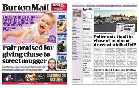 Burton Mail – October 13, 2017