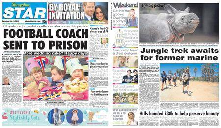 Shropshire Star Shrewsbury Edition – May 19, 2018