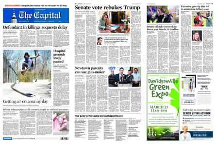 The Capital – March 15, 2019