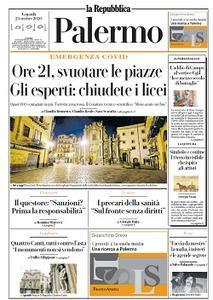 la Repubblica Palermo - 23 Ottobre 2020