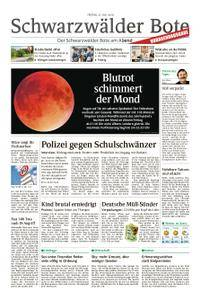 Schwarzwälder Bote Blumberg - 27. Juli 2018
