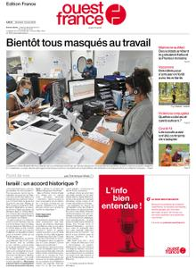 Ouest-France Édition France – 19 août 2020