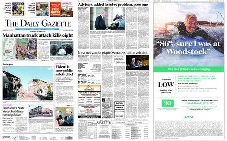 The Daily Gazette – November 01, 2017