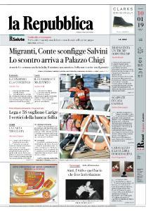 la Repubblica - 10 Gennaio 2019