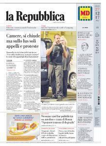 la Repubblica - 27 Dicembre 2017