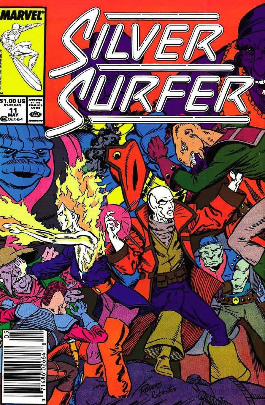 Silver Surfer - 1988 - 011