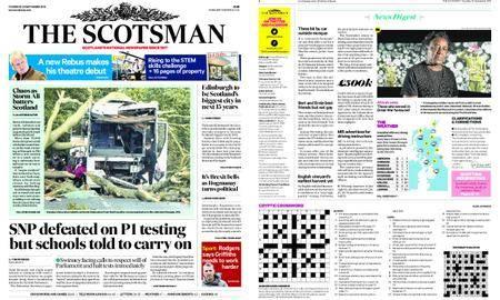 The Scotsman – September 20, 2018