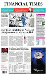 Financial Times UK – May 17, 2019