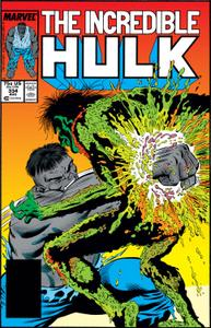 Incredible Hulk 334 1987