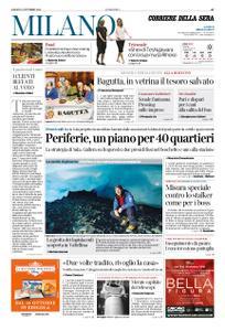 Corriere della Sera Milano – 13 ottobre 2018