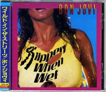 Bon Jovi - Slippery When Wet (1986) {Japan 1st Press}