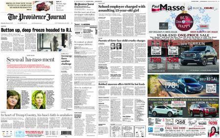 The Providence Journal – December 27, 2017