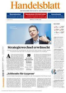 Handelsblatt - 09. April 2018