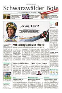 Schwarzwälder Bote Hechingen - 18. März 2019