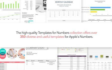 Templates for Numbers by Graphic Node 4.6.1 Mac OS X