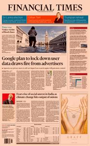 Financial Times UK – 15 November 2019