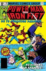 Bronze Age Baby -Power Man  Iron Fist 070 1981 Digital