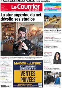 Le Courrier de l'Ouest Angers - 14 juin 2018