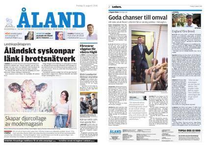 Ålandstidningen – 31 augusti 2018