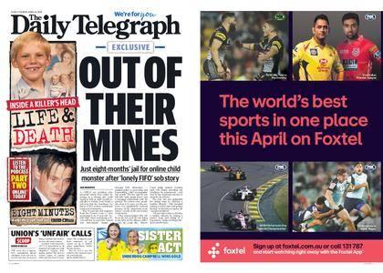 The Daily Telegraph (Sydney) – April 10, 2018