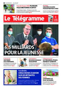 Le Télégramme Auray – 24 juillet 2020