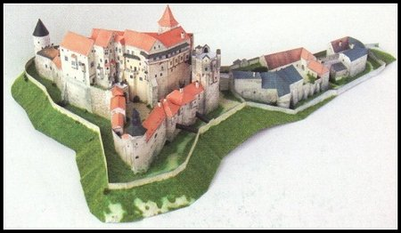 Detailed Architectural Paper Model (E3)