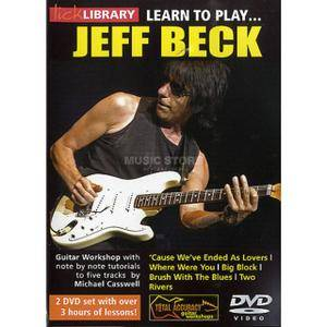 Lick Library - Learn to play Jeff Beck