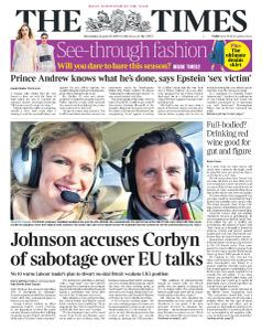 The Times - 28 August 2019
