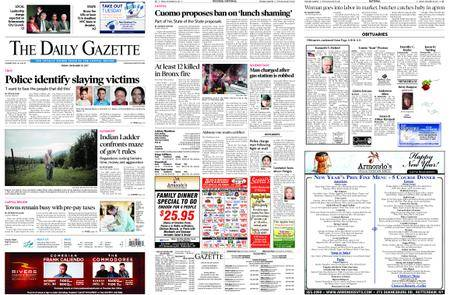 The Daily Gazette – December 29, 2017