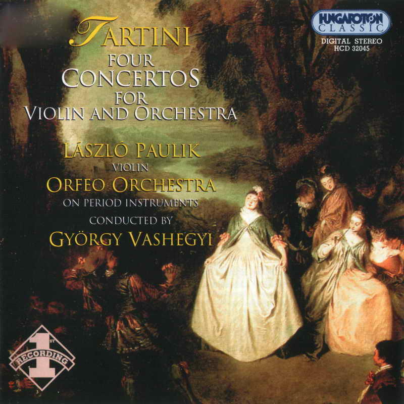 Tartini - Four Concertos for Violin and Orchesta