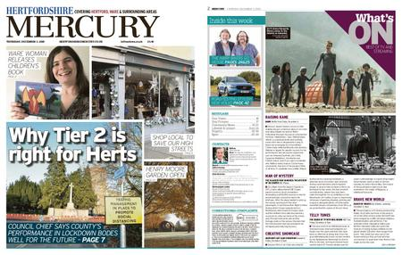 Hertfordshire Mercury – December 03, 2020