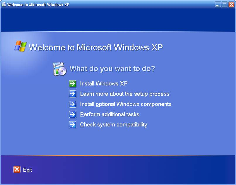 Windows XP: run from CD or USB - built using Reatogo