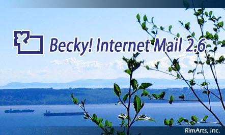 Becky! Internet Mail 2.74.03