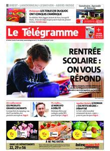 Le Télégramme Brest Abers Iroise – 27 août 2020