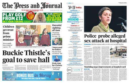 The Press and Journal Moray – March 22, 2018