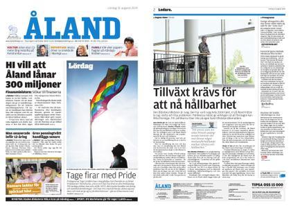 Ålandstidningen – 31 augusti 2019