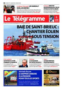 Le Télégramme Brest Abers Iroise – 03 mai 2021