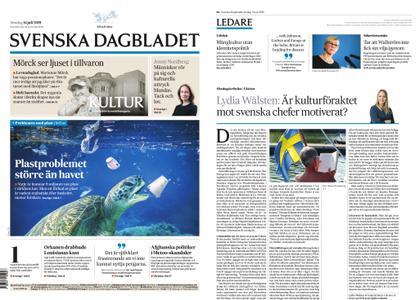 Svenska Dagbladet – 14 juli 2019