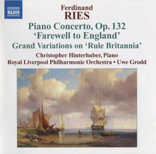 Christopher Hinterhuber - Ferdinand Ries: Piano Concertos, Vol.3 (2009) (Repost)