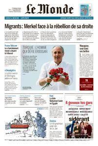 Le Monde du Mercredi 20 Juin 2018