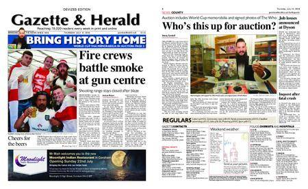 Gazette & Herald – July 12, 2018