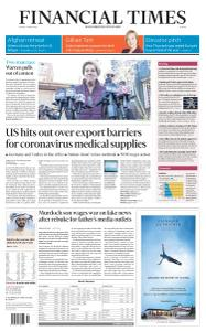 Financial Times Europe - 6 March 2020