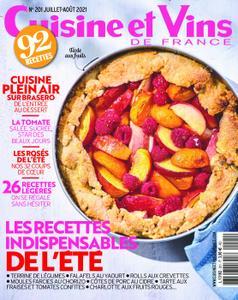 Cuisine et Vins de France - juillet 2021