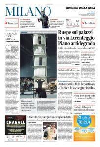 Corriere della Sera Milano - 21 Ottobre 2017