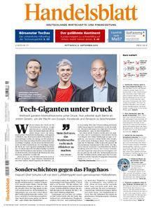 Handelsblatt - 05. September 2018
