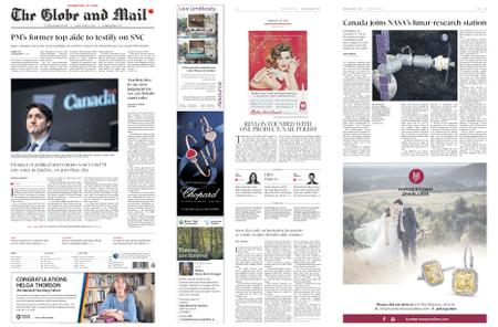 The Globe and Mail – March 01, 2019