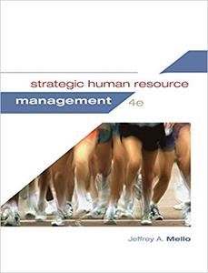 Strategic Human Resource Management Ed 4